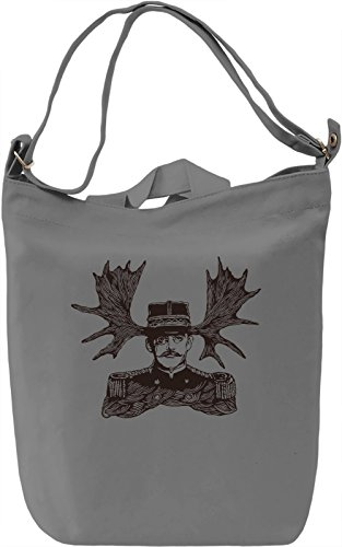 Horny man Borsa Giornaliera Canvas Canvas Day Bag| 100% Premium Cotton Canvas| DTG Printing|