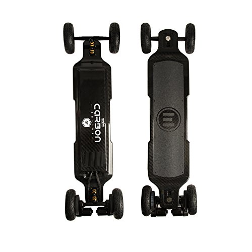 Evolve Skateboards - Carbon GT All-Terrain Electric Longboard Skateboard - 18.5 Mile Range - 26 mph Top Speed -Digital LCD Screen Remote Control - Lithium-Ion Battery
