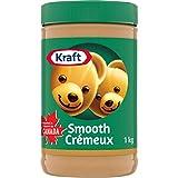 Kraft Peanut Butter, Smooth, 1kg