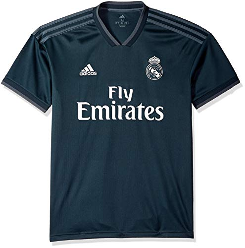 adidas World Cup Soccer Real Madrid Soccer Real Madrid Away Jersey, Medium, Tech Onix