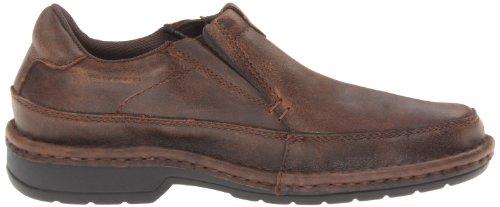 Roper Mens Opanka Slip-on Casual Chaussure Western Marron Vintage