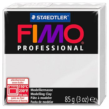 Staedtler Fimo Professional Soft Polymer Clay, 3-Ounce, Dolphin Grey
