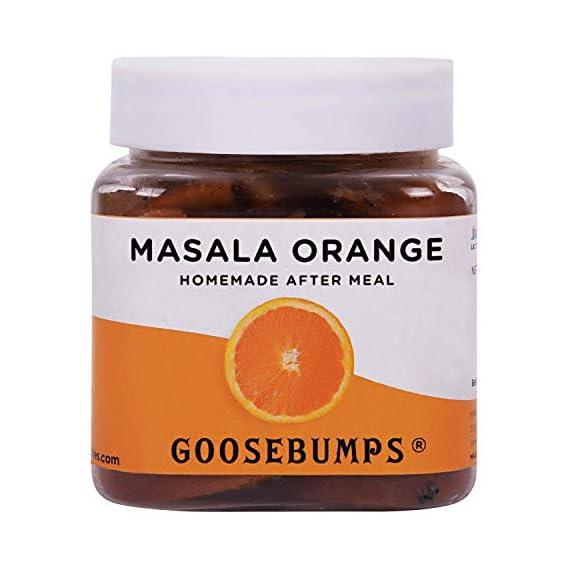 Goosebumps Pickles Masala Orange After Meal, 150 g