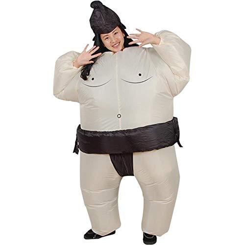 Vantina Halloween Costume Inflatable Sumo Wrestler Wrestling Suits Colorful Bodysuit by Vantina