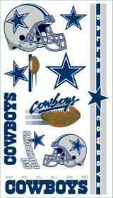 Dallas Cowboys Temporary Tattoos Easily Removed With Household Rubbing Alcohol Or Baby Oil]()
