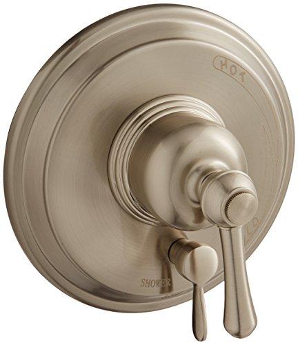 (Danze D500457BNT Opulence Shower Valve Escutcheon Trim Kit with Diverter, Brushed Nickel, Valve Not)
