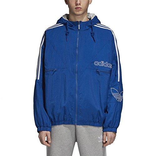 Chaqueta TREF Azul Reauni Jacket adidas Hombre wgPACWnq