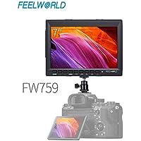 FEELWORLD FW759 DSLR Camera Field Monitor HD Video Assist...