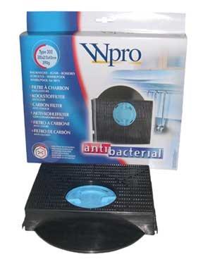 Whirlpool - FILTRE DE HOTTE À CHARBON TYPE 303 DIM 205X215X43 MM POUR HOTTE WHIRLPOOL