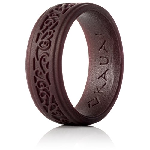 (KAUAI - Silicone Wedding Rings Elegance Timeless Collection. Leading Brand, from The Latest Artist Design Innovations to Leading Edge Comfort)