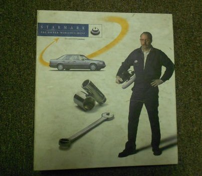 1999 MERCEDES BENZ Starmark Pre Owned Reconditioning Manual OEM FACTORY BOOK (Pre Owned Mercedes)