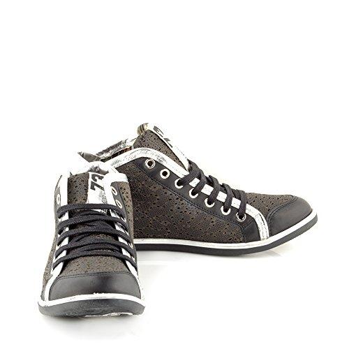 Felmini - Zapatos para Mujer - Enamorarse com Operzep 8948 - Sneakers - Cuero Genuino - Varios colores Varios colores