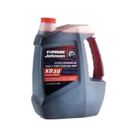 Johnson Bombardier Evinrude (Evinrude Johnson XD30 2-Cycle Outboard Motor Oil 777220)
