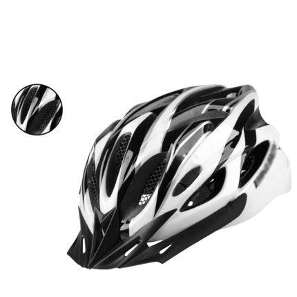 Bluetooth Rocket Science (YXDDG Adult Cycling Bike Helmet Specialized for Men Women Safety Protection Adjustable Lightweight Helmet-White L)