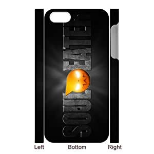 Print Soul Eater Logo on Hard Case Cover for 3D iPhone 5