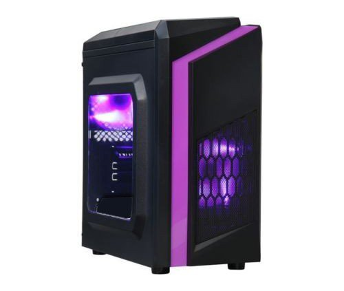 Centaurus Computers Sentinel Gaming - AMD Ryzen 5 2600 Six-Core 3.8GHz OC, 16GB RAM, Nvidia GTX 1060, 240GB SSD + 1TB HDD, Windows 10 PRO, WiFi. Fast Gaming PC, Overclocked CPU