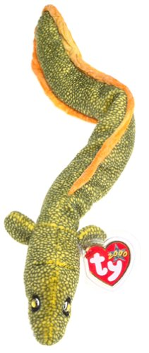 Green Eel (TY Beanie Baby MORRIE the Moray Eel Sea Snake 16
