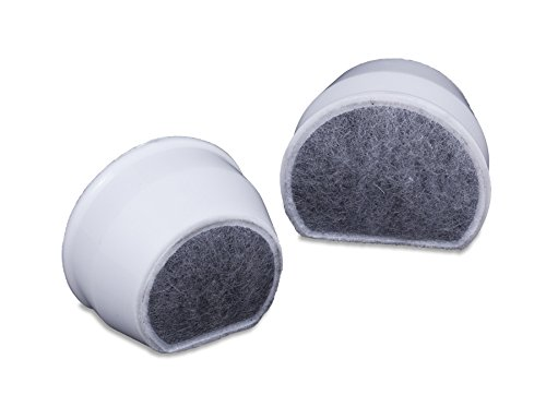 Duo Density Carbon - PetSafe Drinkwell Single Cell Carbon Replacement Filter, Dog and Cat Water Fountain Filters, 4 Pack