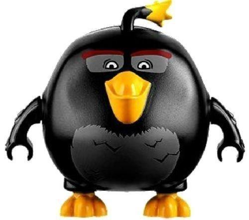 LEGO Angry Birds Movie Black Bird Minifigure - Bomb Bird (75825)