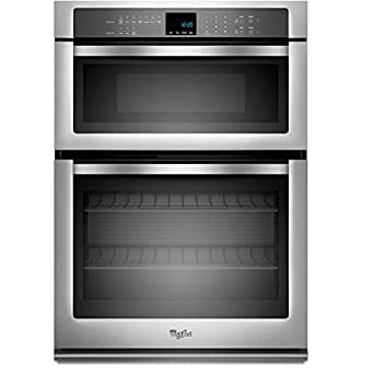 """Whirlpool WOC54EC0AS 30"""" Stainless Steel Electric Combination Wall Oven"""