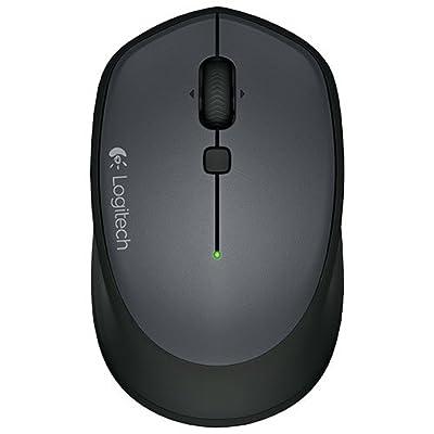 Logitech M335 Wireless Laser-grade optical sensor Mouse for Windows, Mac and Chrome - Black by Logitech
