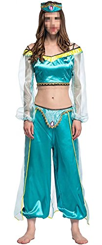 Air Dancer Costume Halloween (Ameyda Adult Women's Halloween Dance Dress Costume)
