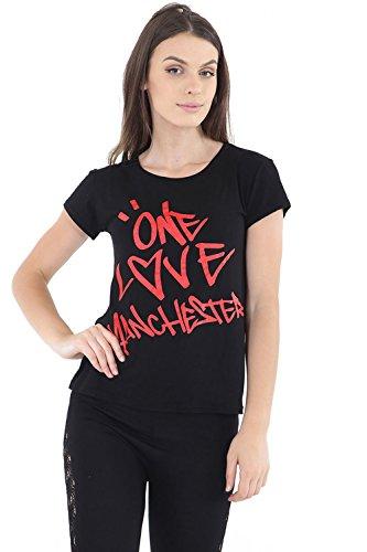 Zaif & Hari - Sudadera - para mujer ONE LOVE MANCHESTER Black TShirt