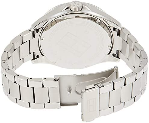 Tommy Hilfiger Men's Sophisticated Sport Quartz Watch with Stainless-Steel Strap, Tone, 22 (Model: 1791366) WeeklyReviewer