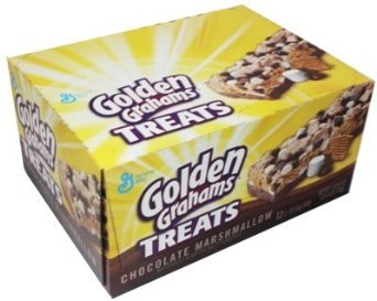 General Mills Golden Grahams Treats - Chocolate Marshmallow 2.1 oz Bar (12 (Marshmallow Treats)