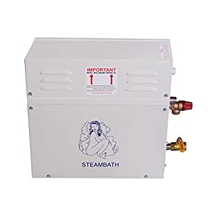 ECO-WORTHY 9KW Bathroom Steam Generator Sauna Steam Khan Stove w/ Controller 220V