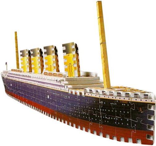 B00000DMG3 Titanic-398 Piece -Puzz 3d --Puzzle 418JZ4XJRDL.