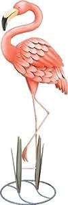 Regal Art & Gift Standing Flamingo Garden Decor, Large