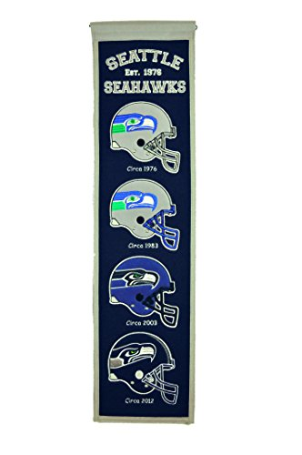 Winning Streak Sports NFL Seattle Seahawks Heritage Banner -