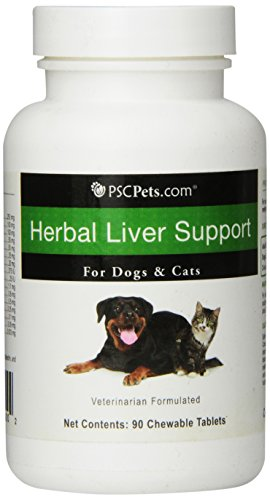 Herbal Liver Support for Dogs and Cats