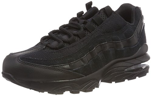 Nike Unisex Kids' Air Max 95 (gs) Low-Top Sneakers Black 055, 3.5 UK 3.5 UK ()
