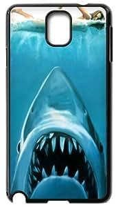 Cool White Shark Back Case Hard Durable Samsung Galaxy Note3 N9000 Case