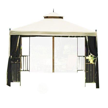 (Garden Winds LCM1109B-RS Laketon Gazebo, Riplock 350 Replacement Canopy)
