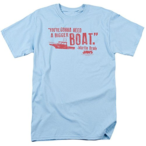 Jaws - Bigger Boat T-Shirt Size XXL ()