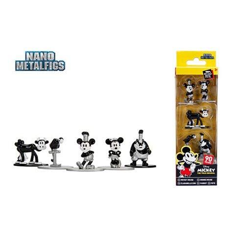 (Jada Mickey Mouse 90th Ann. Nano Metalfigs Mini-Figure 5-Pack)