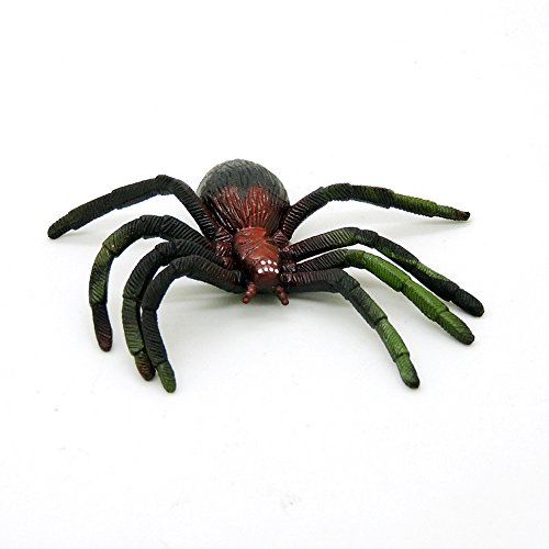Pictures Of Black Widow Costumes (Magical Imaginary Fake Spider Scary Spiders Spider Prank Halloween Spider Spider Games Environmental Simulation Soft TPR Black Widow Spider Halloween spoof tricky toys,Pack of 3)