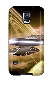 High Impact Dirt/shock Proof YY-ONE For Galaxy S5 (star Trek Into Darkness Enterprise )