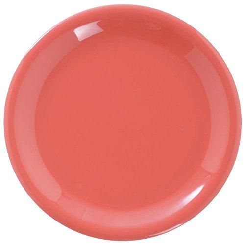 Carlisle 3300452 Sierrus Dinner Plate - Narrow Rim 9'' - Sunset Orange (24 PER CASE)