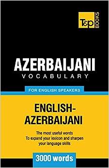 Book Azerbaijani vocabulary for English speakers - 3000 words