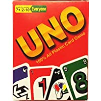 La Home UNO Family Card Game (2 Pack, 108 cards), 100% Plastic, Long Lasting, Durable, Waterproof, Tearproof (Made in Japan)