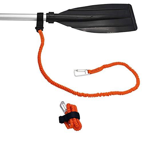 YYST Orange Paddle Leash Paddle Holder Tool Lanyard - No Paddle (Orange X 4 Pack)