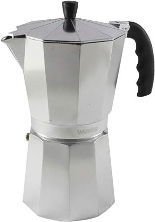 Wurko - Cafetera Aluminio Kaffe 12 Tazas: Amazon.es: Hogar