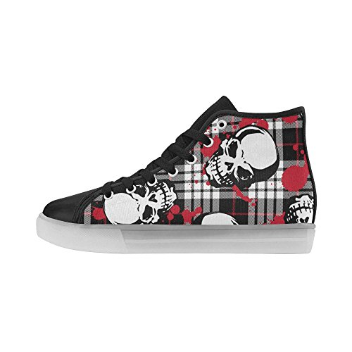 Bones Womens Light InterestPrint Up Skulls Skull And Sneakers Flashing Shoes 1 FXxxtPqE