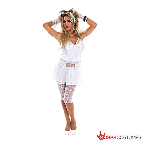 Womens 1980s Retro Diva Costume