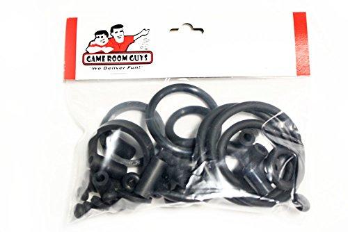 Game Room Guys Stern NBA Pinball Black Rubber Ring Kit by Game Room Guys