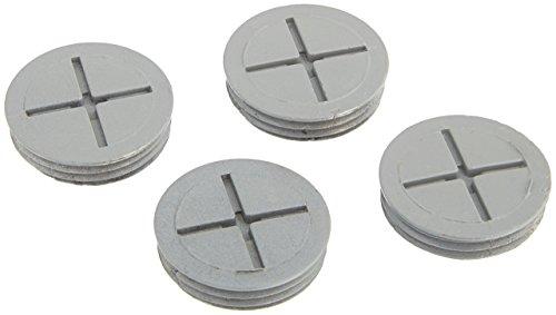 - TayMac CP4100S Metallic Closure Plug Weatherproof Accessories, 1-Inch Per Polybag, Gray